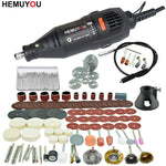 Load image into Gallery viewer, 180W Electric Dremel Engraving Mini Drill polishing machine Variable Speed Rotary Tool with Power Tools accessories