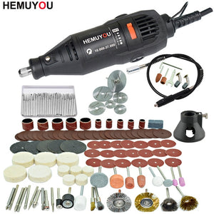 180W Electric Dremel Engraving Mini Drill polishing machine Variable Speed Rotary Tool with Power Tools accessories