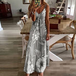 Load image into Gallery viewer, MOVOKAKA Fashion Long Dress Women Elegant Summer Dress Sexy Casual Beach Dresses Woman Party Floral Women's Dress Plus Size 5XL