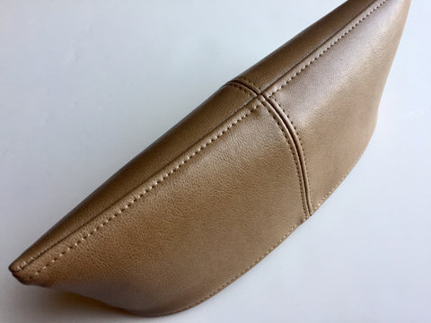 Vegan Leather Pocket Clutch Lid