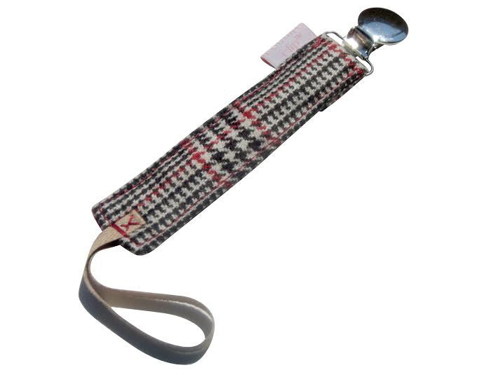 Plaid Cashmere Binkie Holder