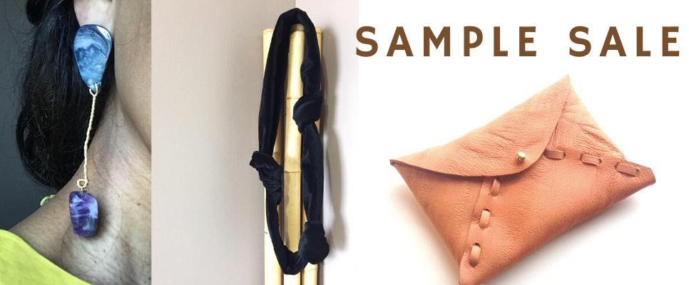 Sample sale! Jewelry handbags and hair accessories