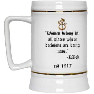RBG Beer Stein 22oz.