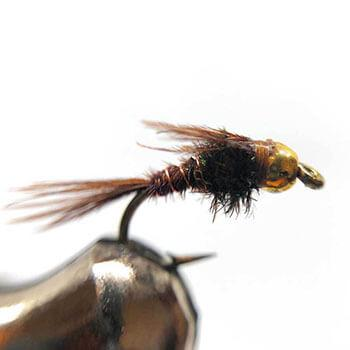 picture of pheasant tail nymph fly