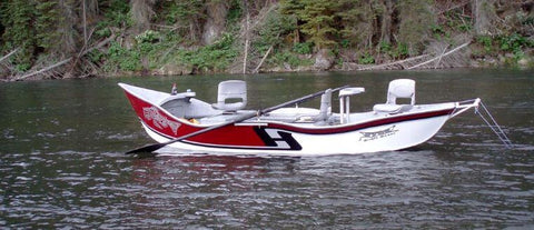 image of hyde fly fishing boat