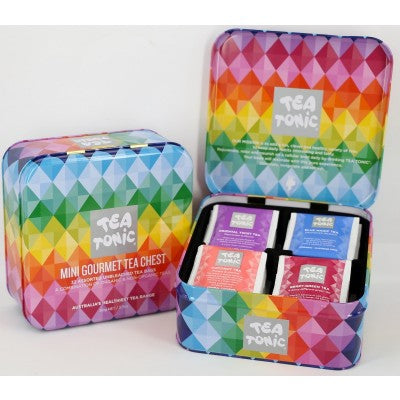 TEA - Mini Tea Chest - Gourmet Diamond Tin