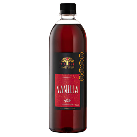 SYRUP - Vanilla 750ml