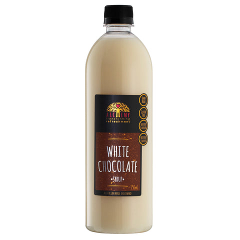SYRUP - White Choc 750ml