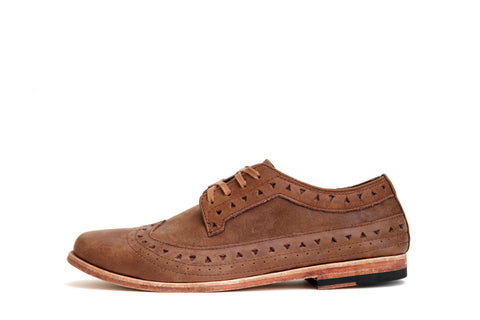 MERE BOBBY - OAK - LEATHER SOLE