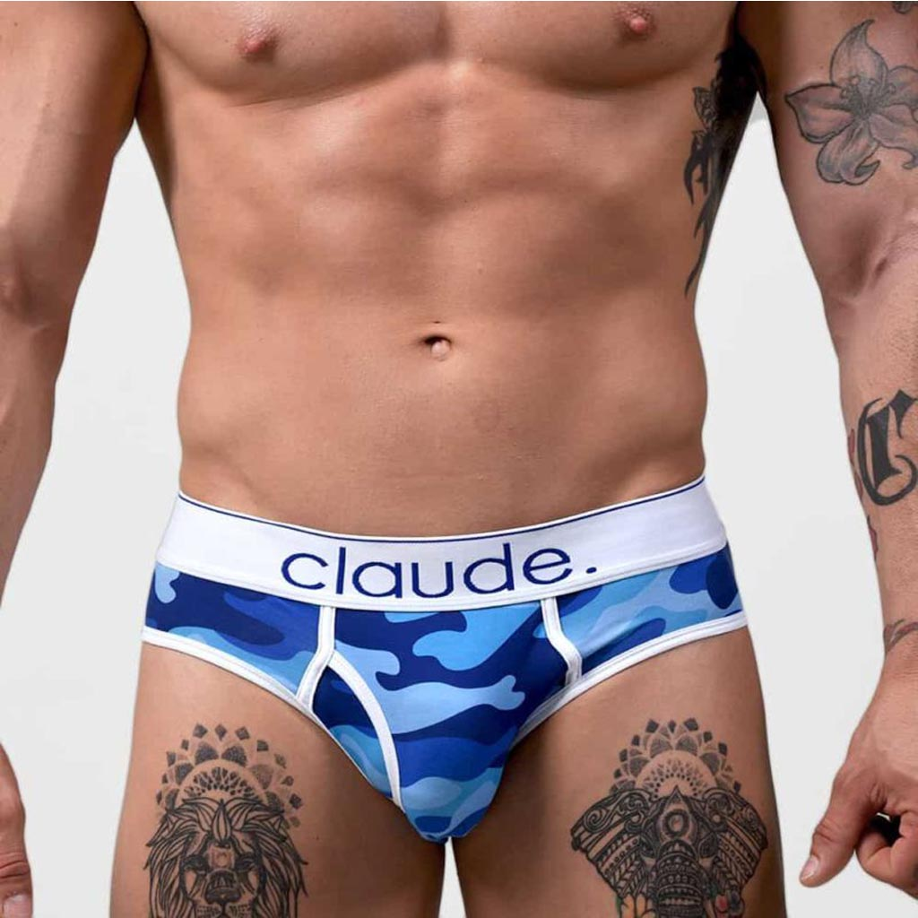 BLUE CAMO BRIEF