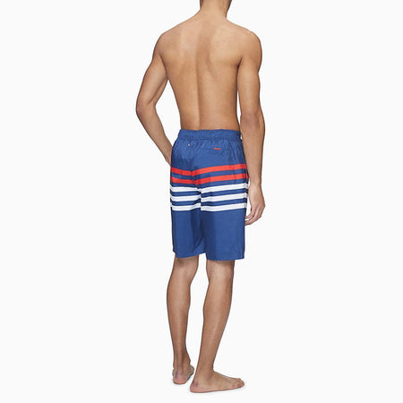 "RACER STRIPE LOGO 10"" BOARD SHORTS"