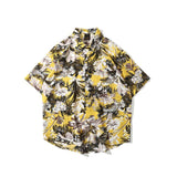 OSCN7 Casual Printed Short Sleeve Shirt Men Street 2020 Hawaii Beach Oversize Women Fashion Harujuku Shirts for Men 3927 - Brixtee