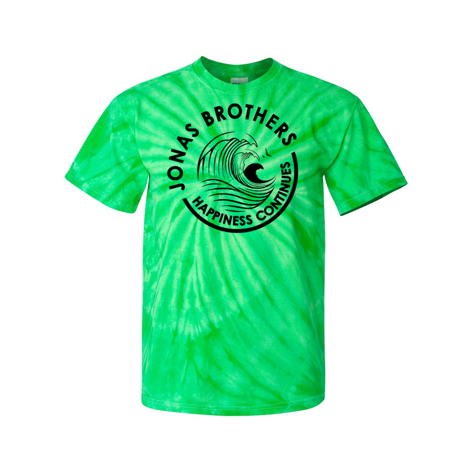 Jonas Brothers Happiness Continues White Claw Tie Dye Tee - Brixtee