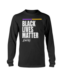 Los Angeles Lakers Black Lives Matter T-Shirt - Brixtee