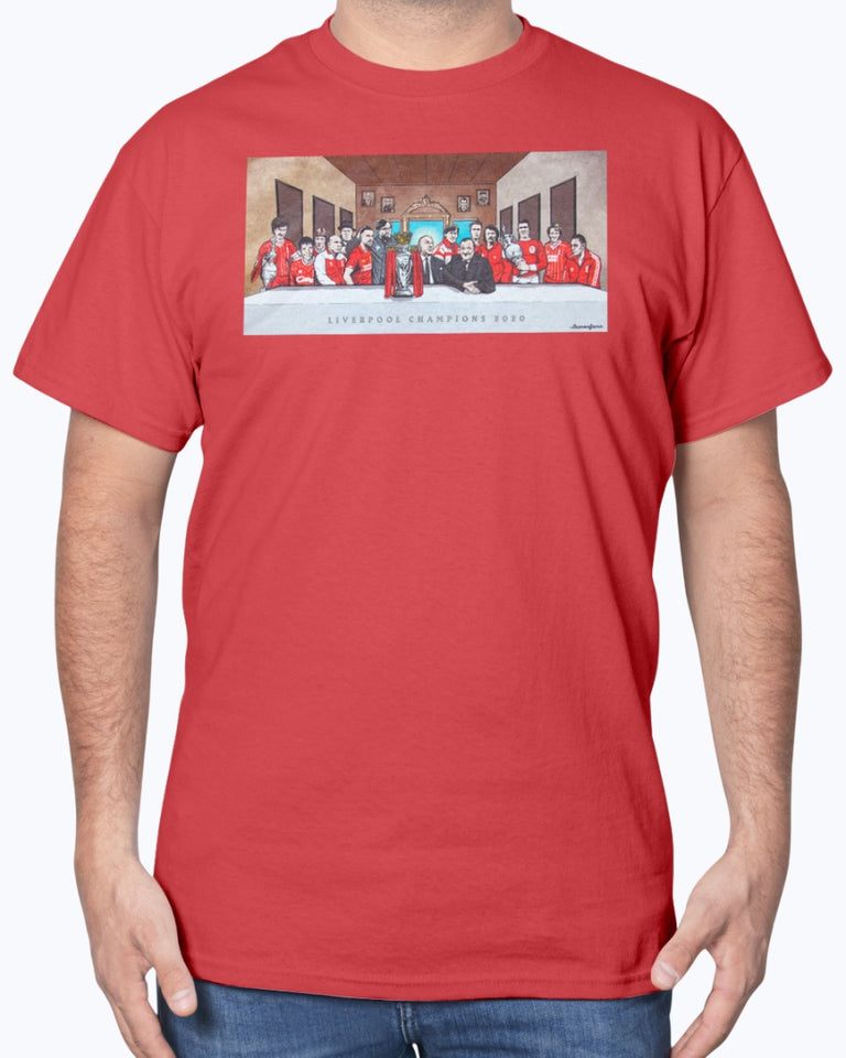 Liverpool Last Supper T-Shirt - Brixtee