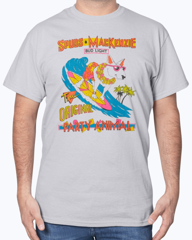 Vintage Spuds Mackenzie The Original Party Animal T-Shirt - Brixtee