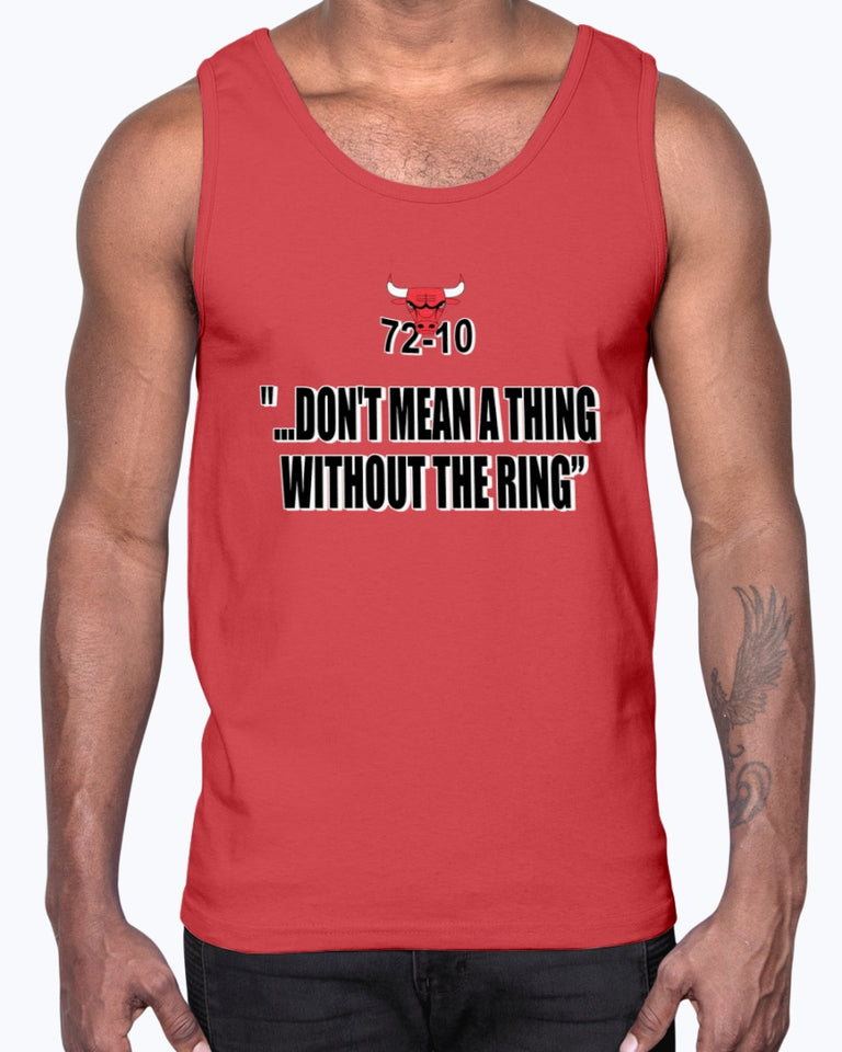 72-10 Don't Mean A Thing Without The Ring Shirt, Chicago Bulls - Brixtee