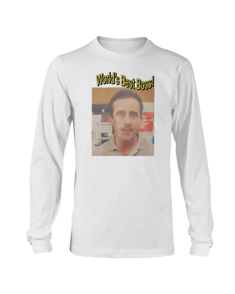 The Office World's Best Boss T-Shirt, Michael Scott - Brixtee