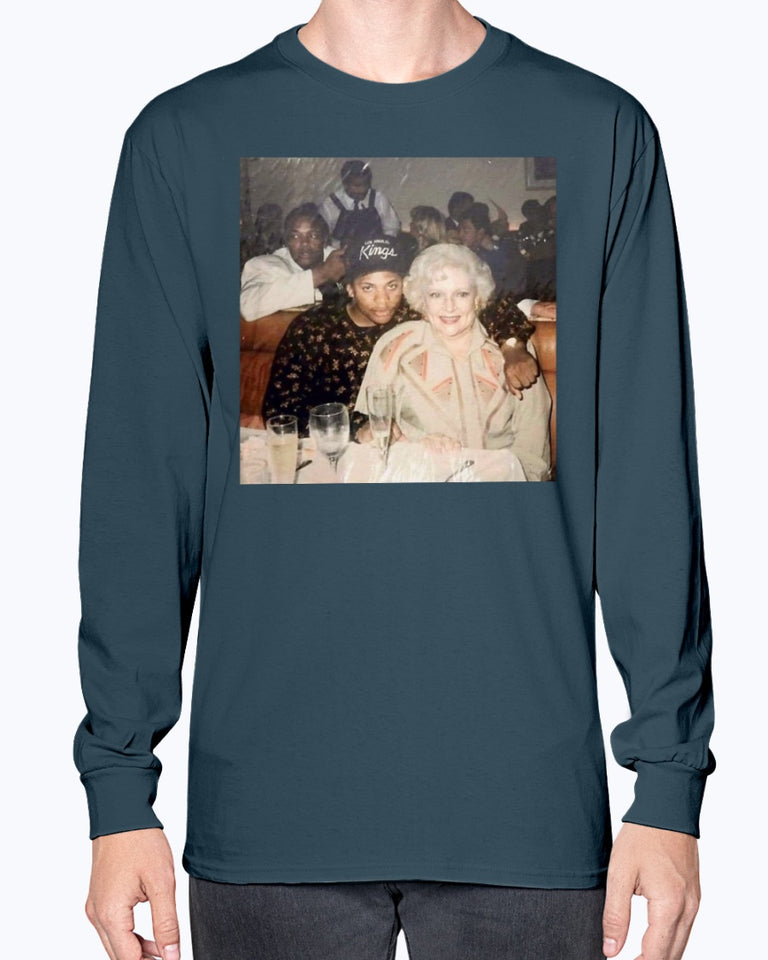 Dr. Dre - Eazy-E and Betty White T-Shirt - Brixtee