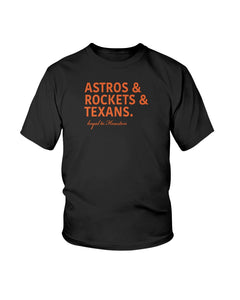 Astros, Rockets and Texans Loyal To Houston Shirts - Brixtee