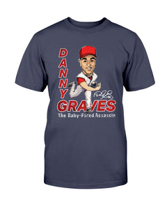 Danny Graves - Hall Of Heroes T-Shirt - Danny Graves The Baby-Faced Assassin T-Shirt - Brixtee