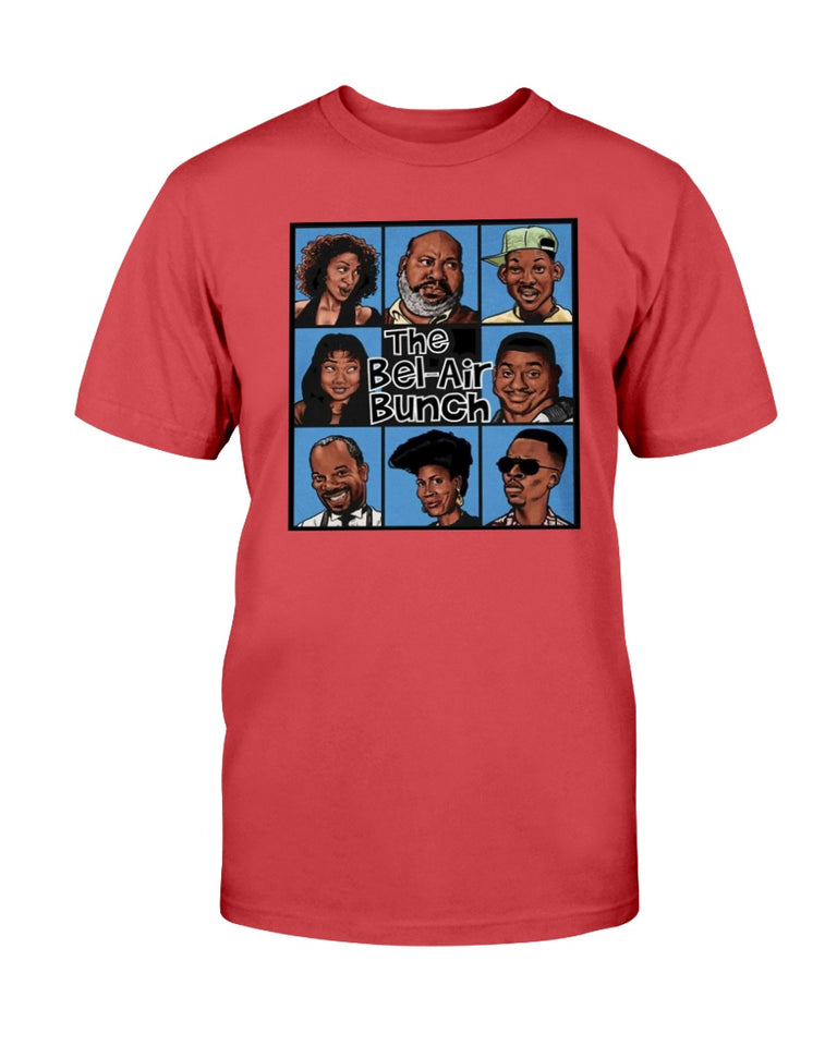 FRESH PRINCE OF BEL-AIR/ BRADY BUNCH STYLE PARODY SHIRT - Brixtee