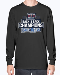 2020 Champions Back 2 Back Sup Dogs T-Shirt - NBL Grand Final - Brixtee