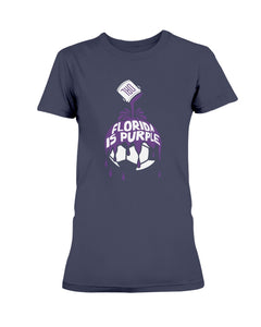 Florida Is Purple Shirt - Orlando Soccer - Brixtee