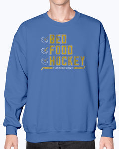 Bed Food Hockey Summer 2020 T-Shirt - Brixtee
