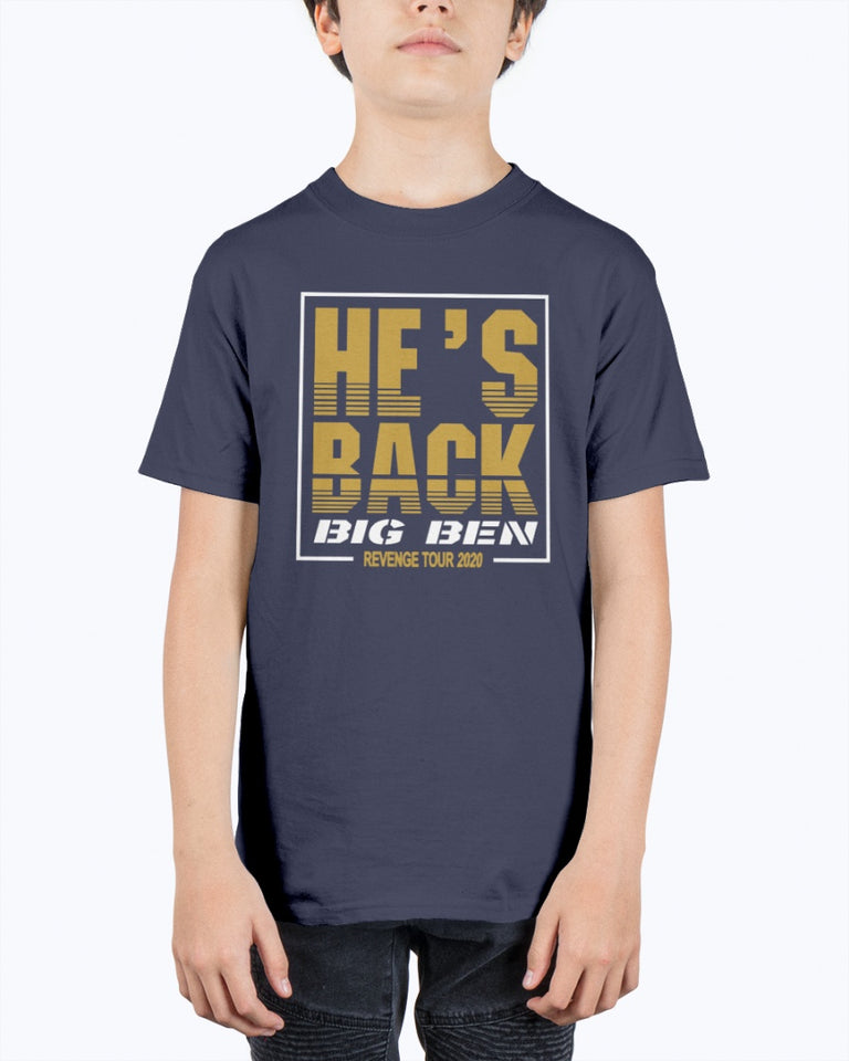 He's Back Big Ben Revenge Tour 2020 T-Shirt - Brixtee