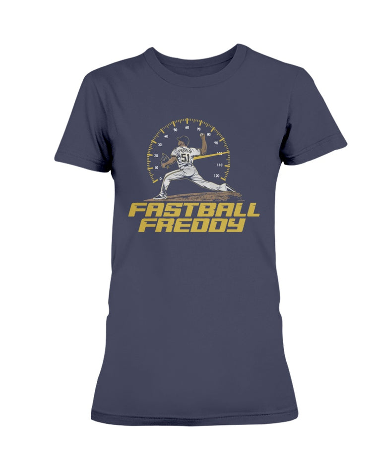 Fastball Freddy Peralta Shirt, Milwaukee - Brixtee