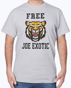 Free Joe Exotic Tiger Shirt - Brixtee
