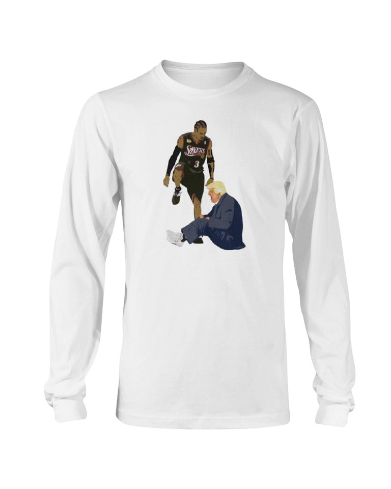 Allen Iverson Steps Over Donald Trump - Brixtee