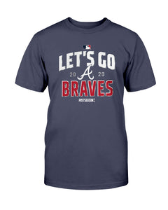 Let's Go Braves 2020 T-Shirt, Atlanta Braves 2020 Division Series Winner T-Shirt - Brixtee