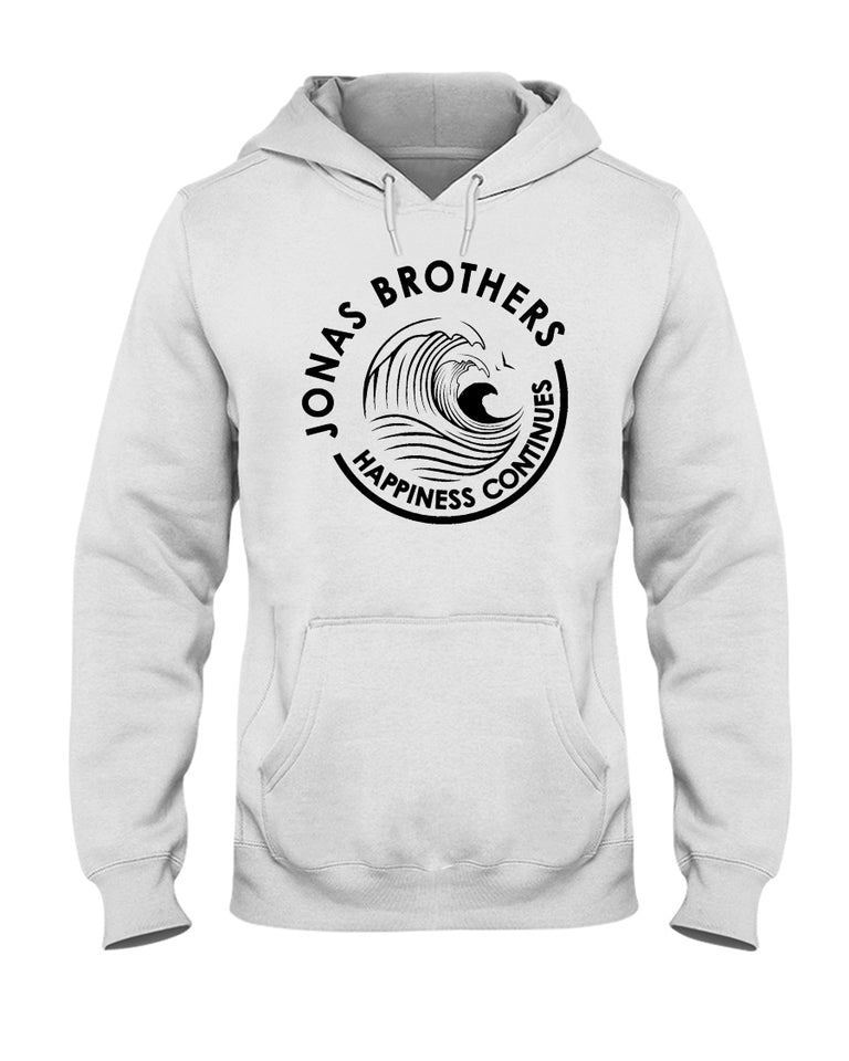 Jonas Brothers Happiness Continues White Claw T-Shirt - Brixtee