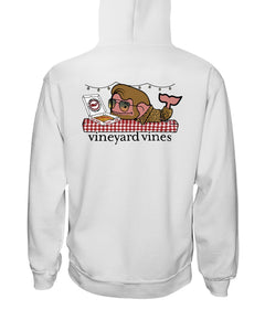Alright Frankie Vineyard Vines Pizza Shirt - Brixtee