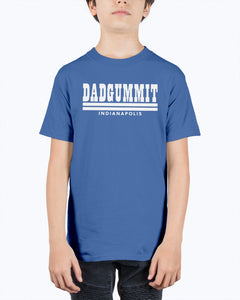 Dadgummit Indy Shirt, Indianapolis Football - Brixtee