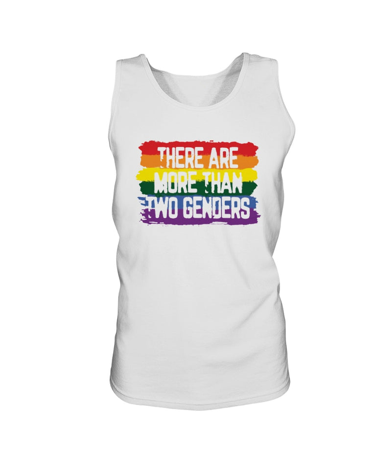 There Are More Than 2 Genders Shirt - Brixtee