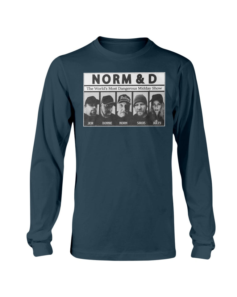 Norm And D T-Shirt - Brixtee