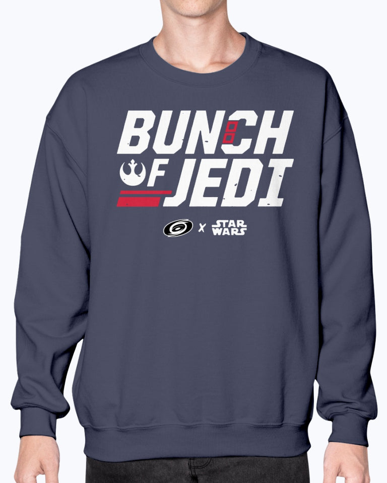 Bunch Of Jedi Shirt, Carolina Hurricanes - Star Wars - Brixtee