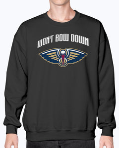 Won't Bow Down Shirt New Orleans Pelicans - Brixtee