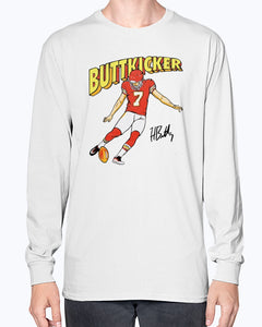 Harrison Buttkicker T-Shirt - Brixtee