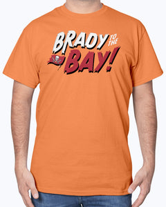 Brady To The Bay T-Shirt, Tom Brady Tampa Bay Buccaneers - Brixtee