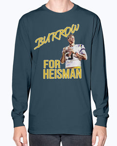 Joe Burrow For Heisman Shirt - LSU - Brixtee