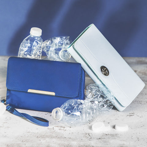 Wallet Interiors Made From Recycled Plastic