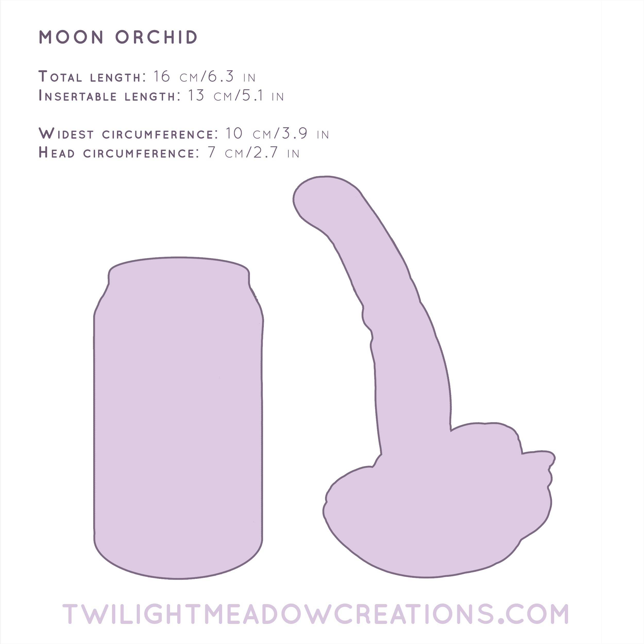 Moon Orchid (Firmness: Firm) - Twilight Meadow Creations