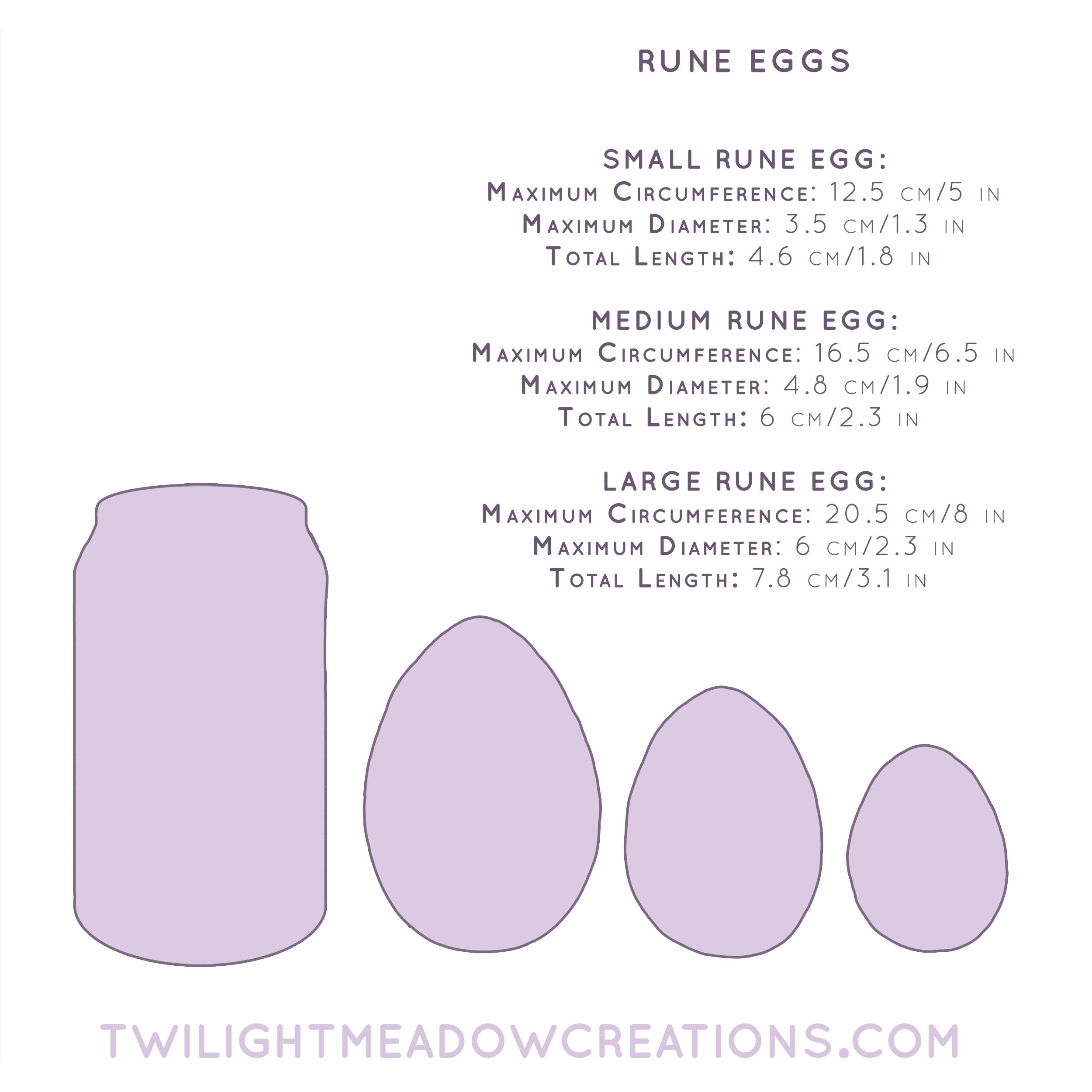 Small Rune Egg (Firmness: Firm)