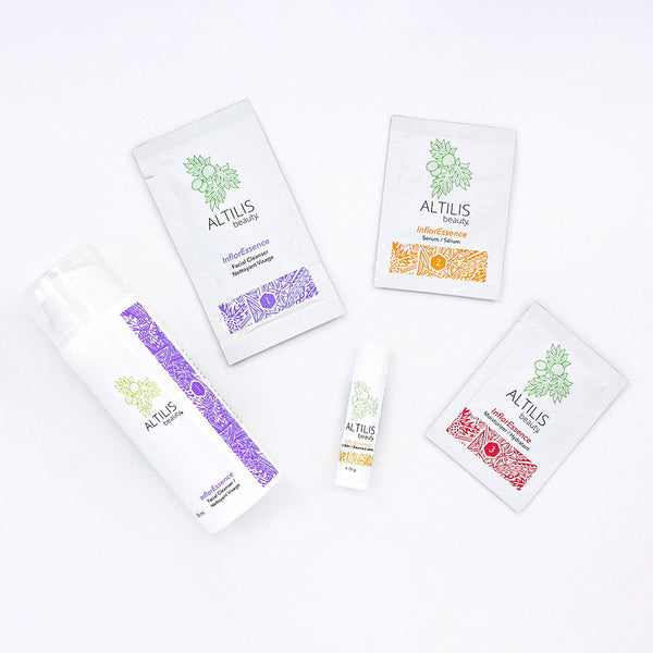 InflorEssence Facial Cleanser & Trial Kit by Altilis Beauty