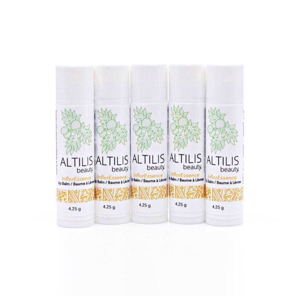 InflorEssence Lip Balm - 5 Pack by Altilis Beauty