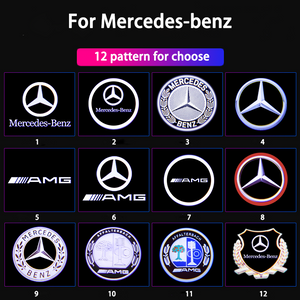 🎅🤶Christmas Big Sale--Only $14.99🚗🚕For Mercedes-benz Welcome LED Car Logo Lights